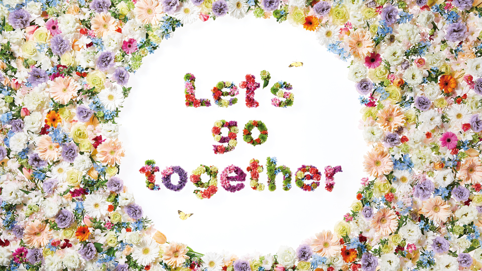 Let's go togetherキャンペーン